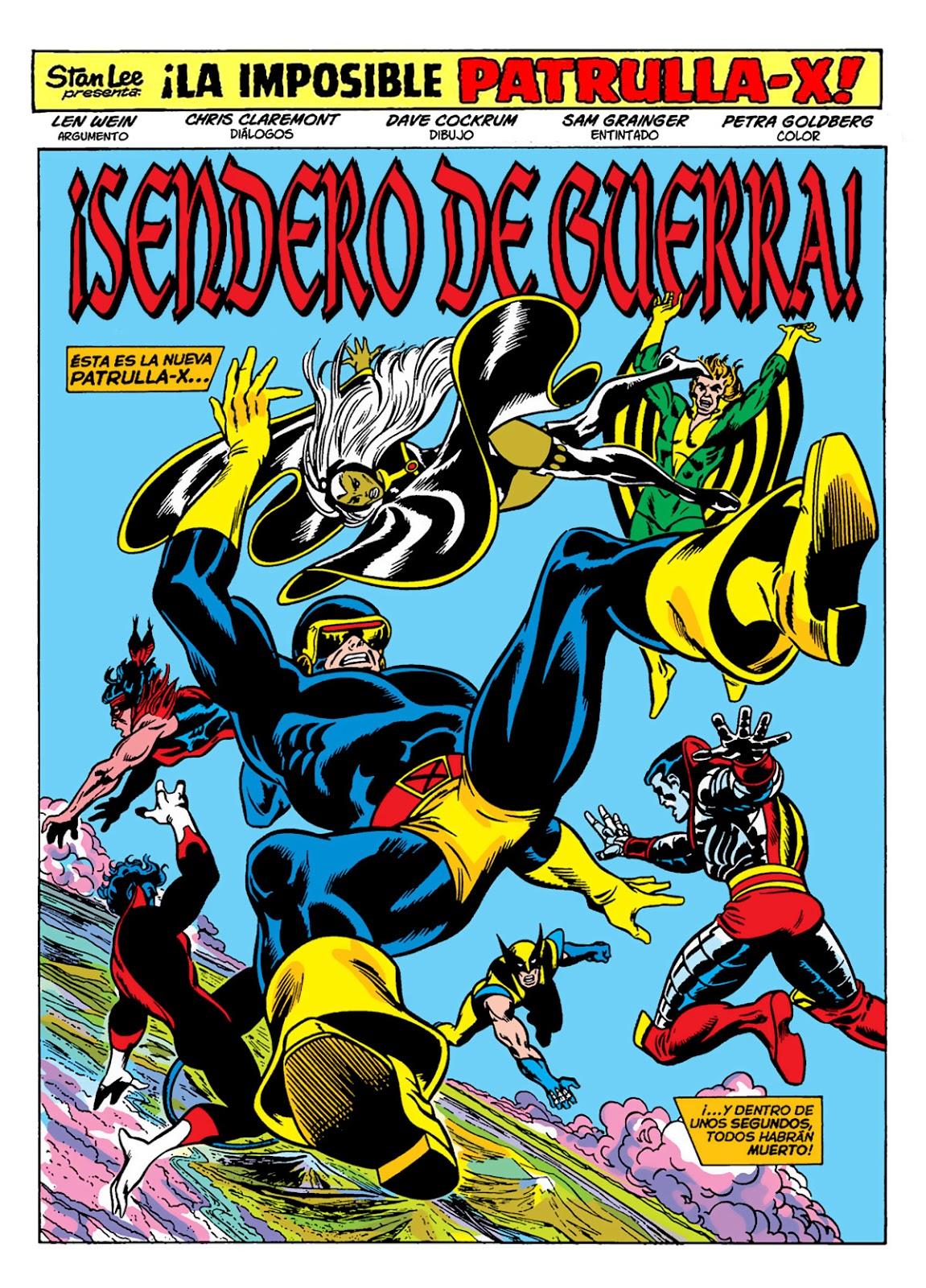 Marvel Gold - La Imposible Patrulla X 1 - Nueva genesis. Descarga