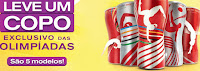 Copo das Olimpíadas Rio 2016 McDonald's e Coca-Cola