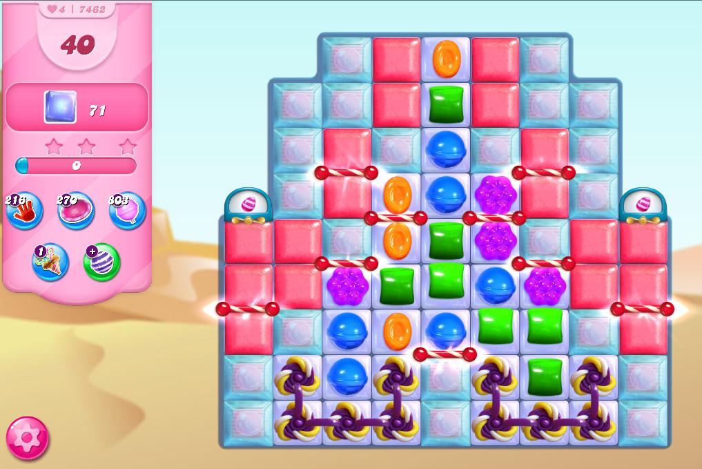 Candy Crush Saga level 7462