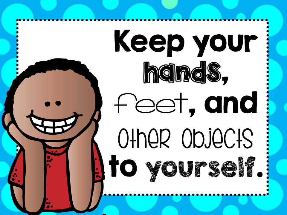 The gallery for --> Keep Your Hands To Yourself Preschool