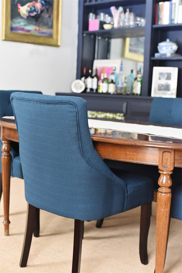 Amazing Blue Dining Room Chairs Gallery - Best Image Engine ...