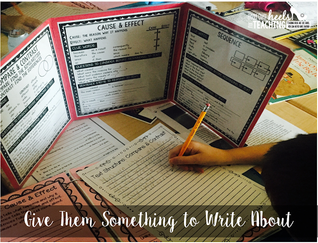 http://www.teacherspayteachers.com/Product/Non-Fiction-Text-Feature-Writing-Mini-Office-1373504