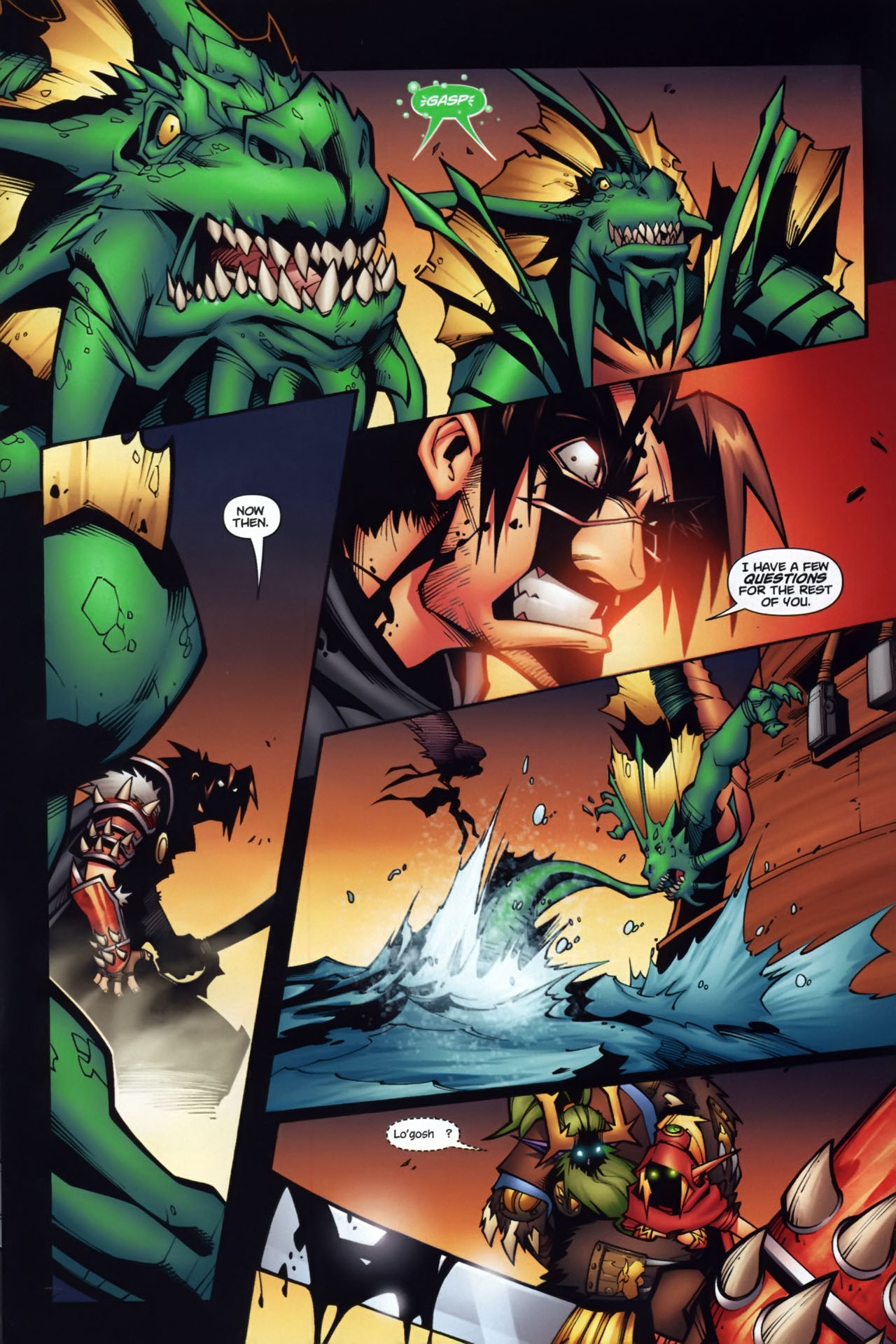 Read online World of Warcraft comic -  Issue #7 - 22