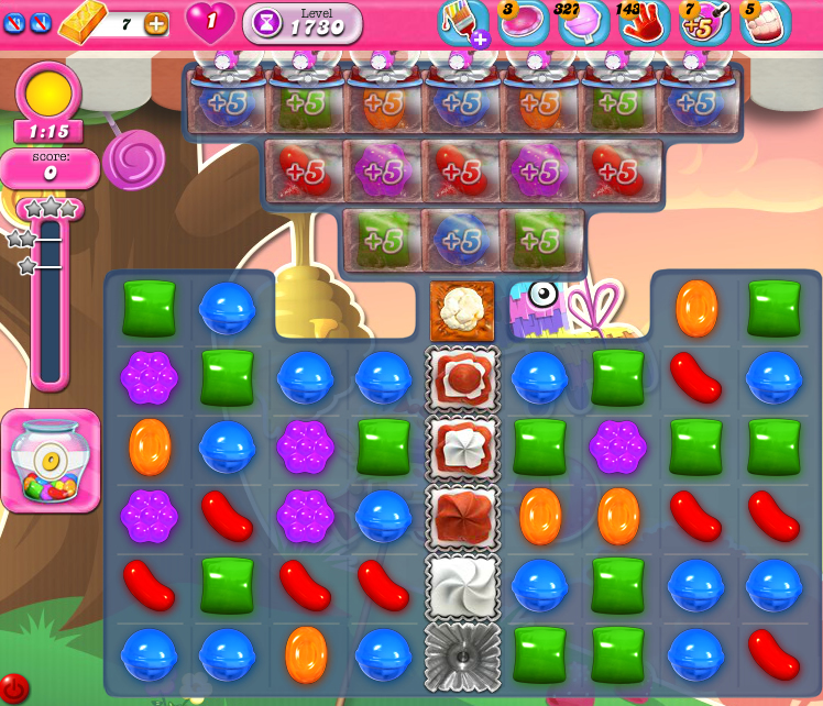 Candy Crush Saga 1730