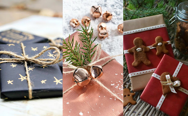 Pinterest Inspired Christmas Wrapping Ideas