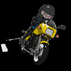 Motorcycle Geek Old Man Rider