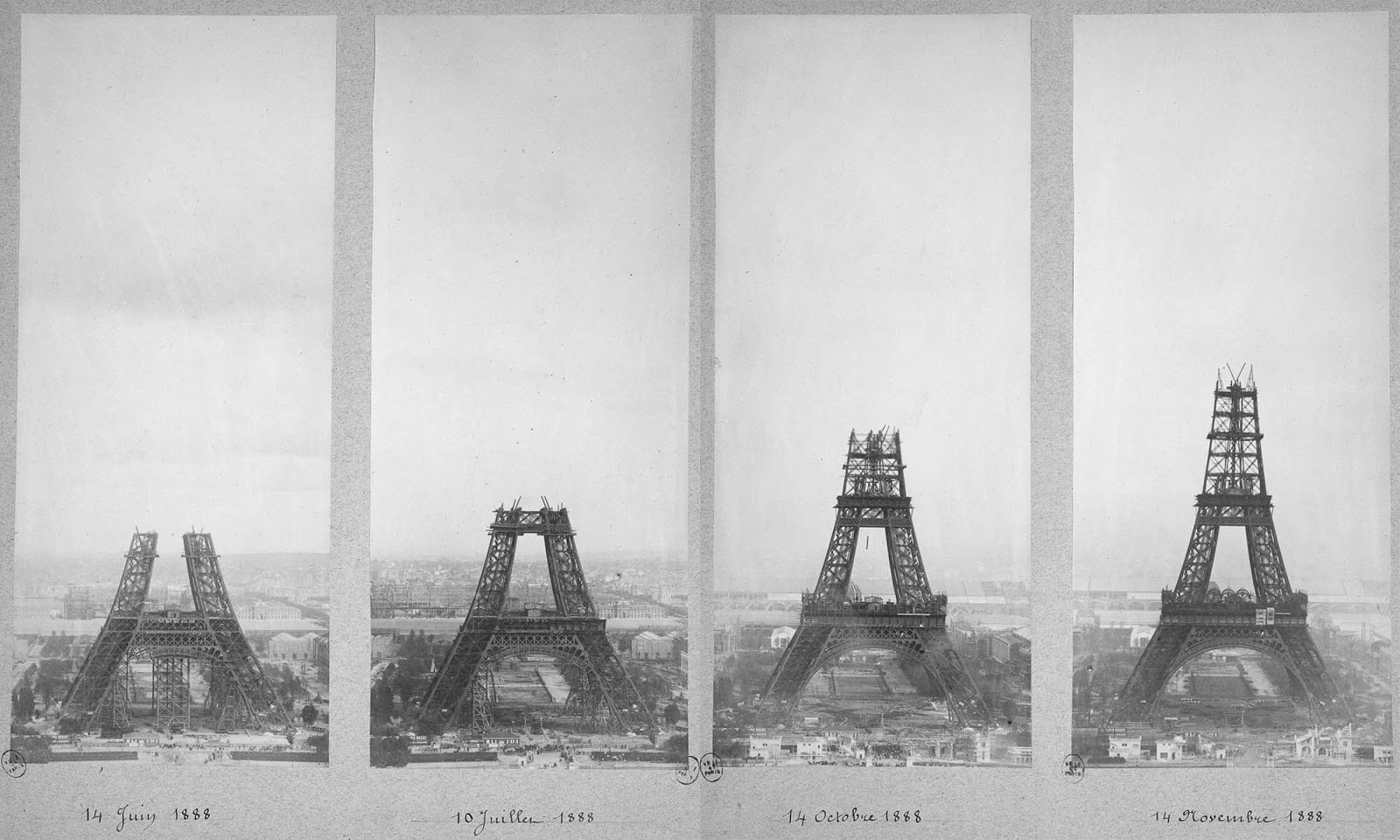 """a history of the construction of the eiffel tower in paris When you hear the word """"paris,"""" the first thing that comes to mind is almost certainly the eiffel tower but did you know many parisians never wanted it built, and protested its construction vehemently."""