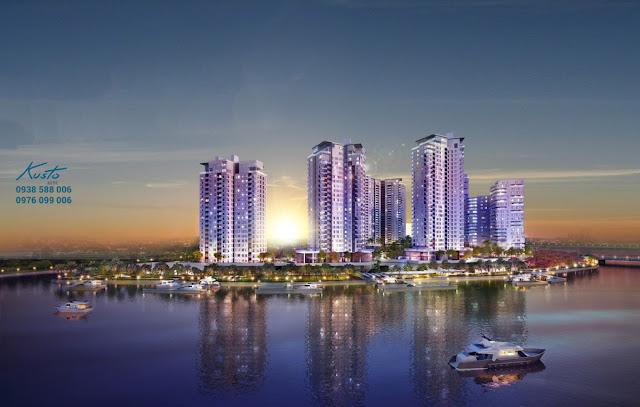 Phối cảnh dự án căn hộ cao cấp Đảo Kim Cương - Diamond Island quận 2.