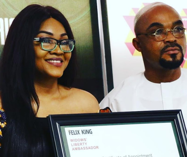 mercy aigbe widows liberty ambassador