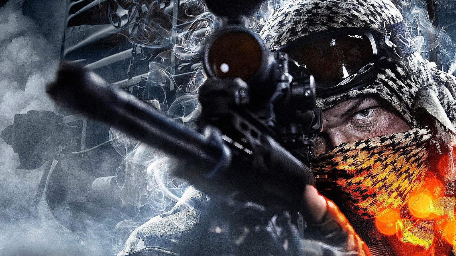 Battlefield 4 Recon Sniper Wallpaper Game Pictures And