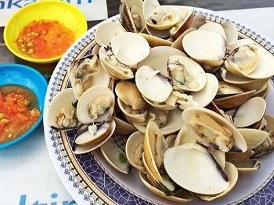 Kapah. Makanan Favorit Pantai Amal