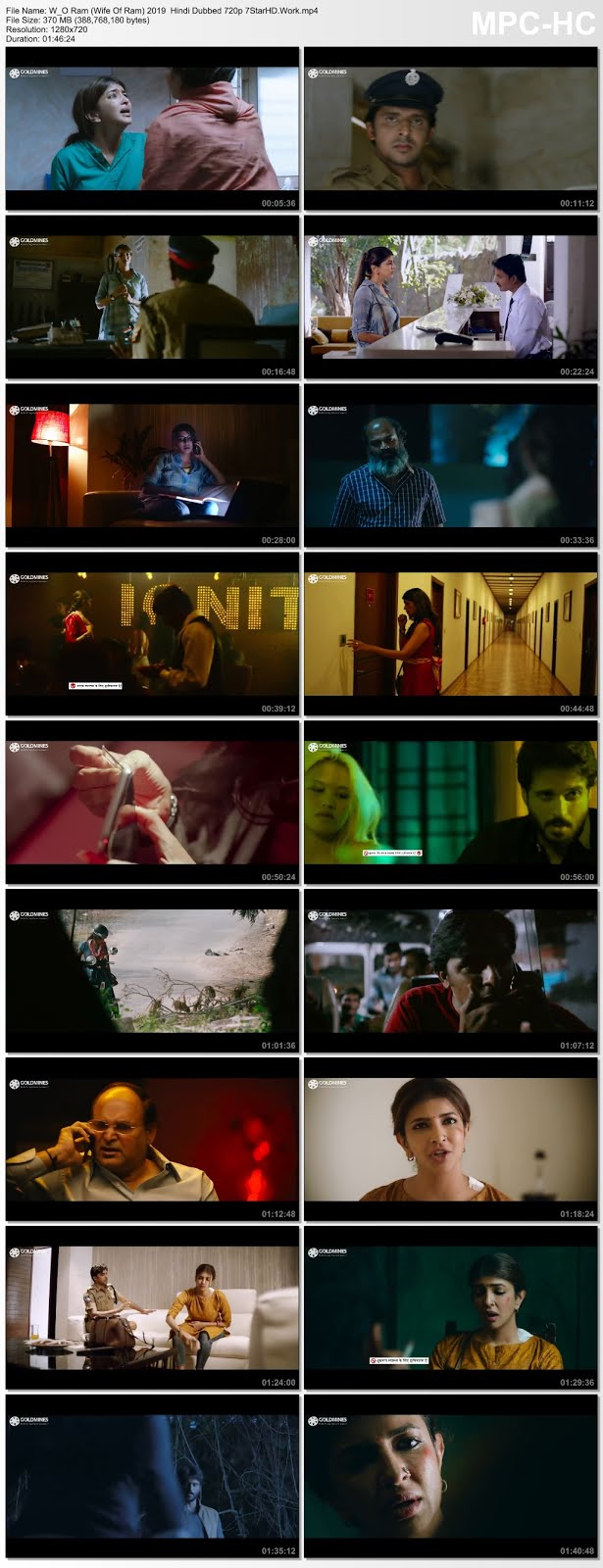W/O Ram (Wife Of Ram) 2019 Hindi Dubbed 300MB HDRip 480p