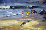 JANUARY inspiration is Beach Scene by Arthur Streeton