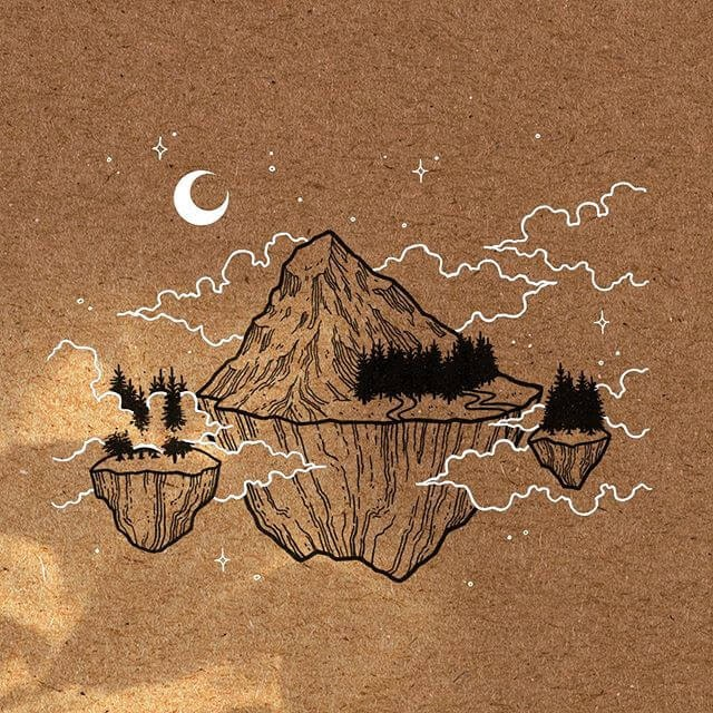 07-Floating-Lands-Eléna-Le-Gal-Fantasy-Drawings-www-designstack-co