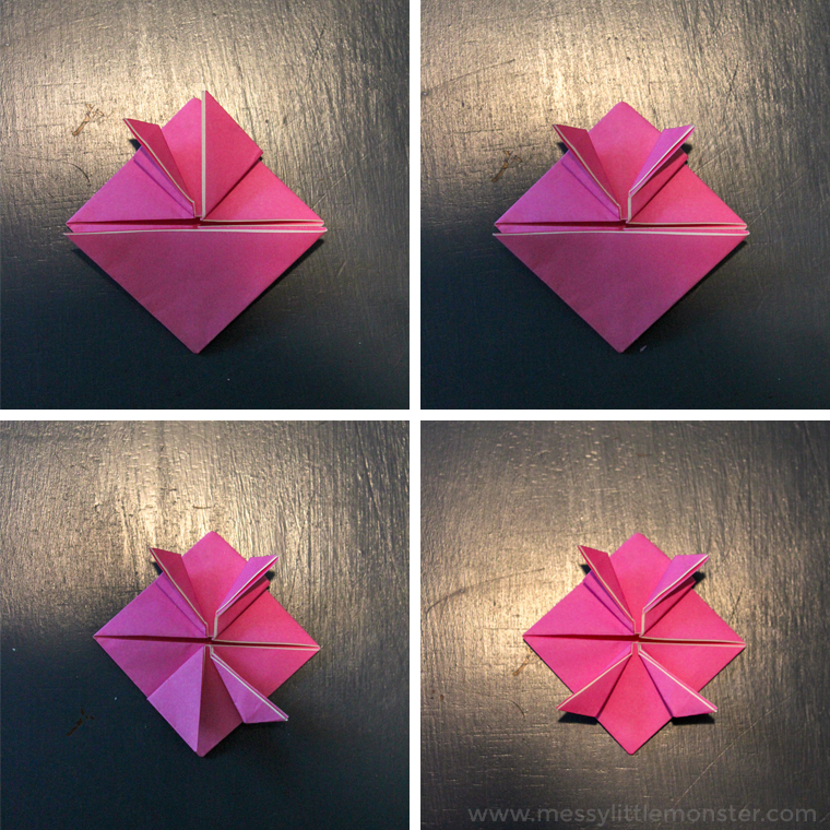 origami frog instructions
