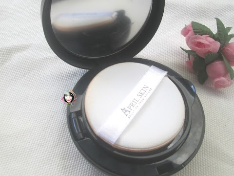 Review April Skin Magic Snow Cushion
