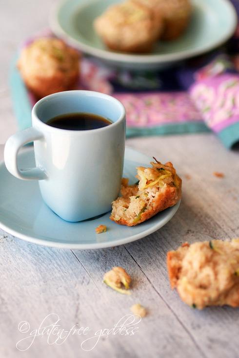 Gluten-Free Almond Zucchini Mini-Muffins