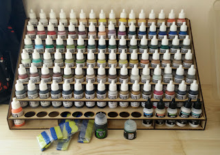 A healthy collection of paints
