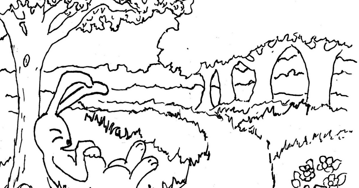 Coloring Pages for Kids by Mr. Adron: Tortoise And The