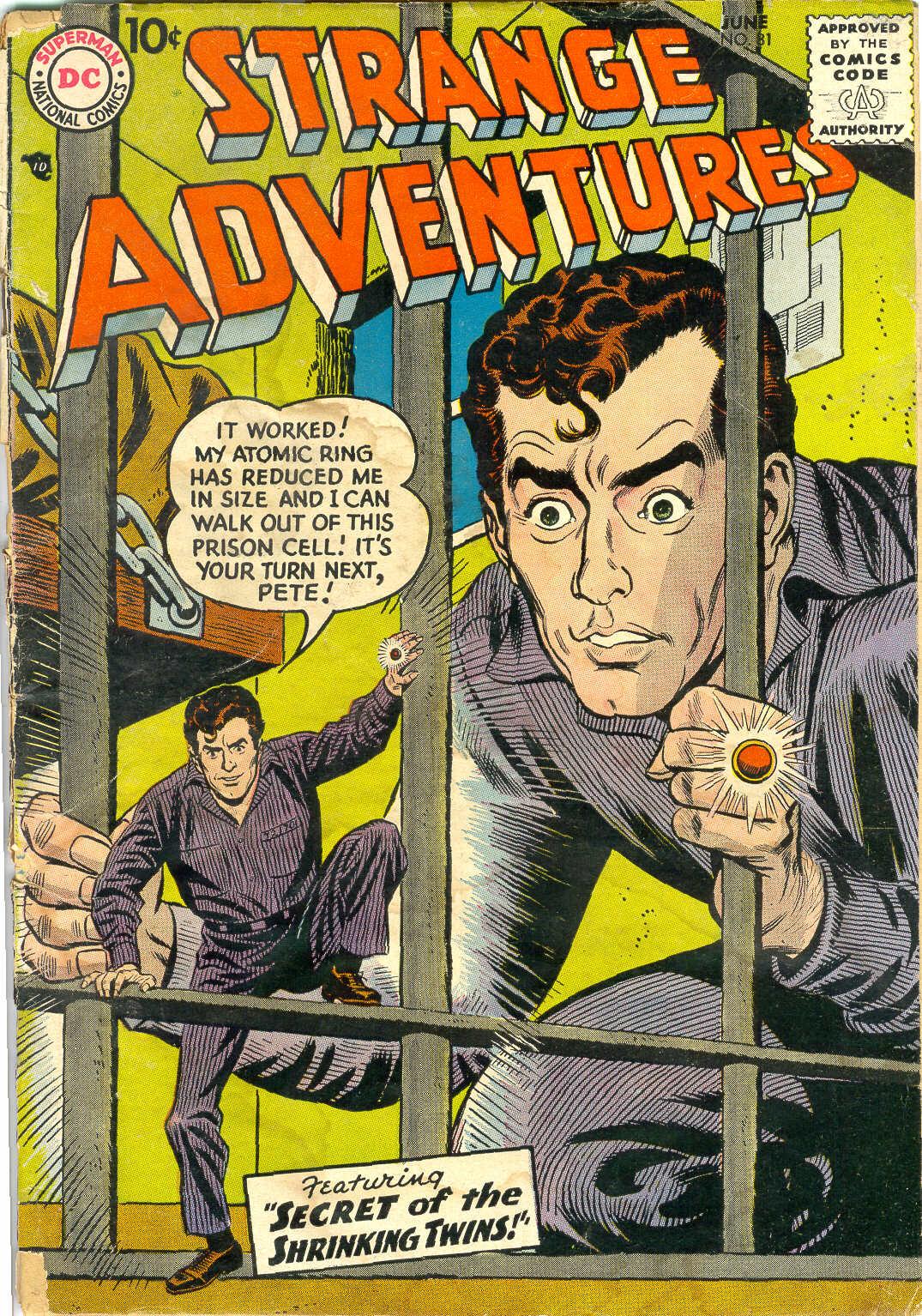 Strange Adventures (1950) issue 81 - Page 1