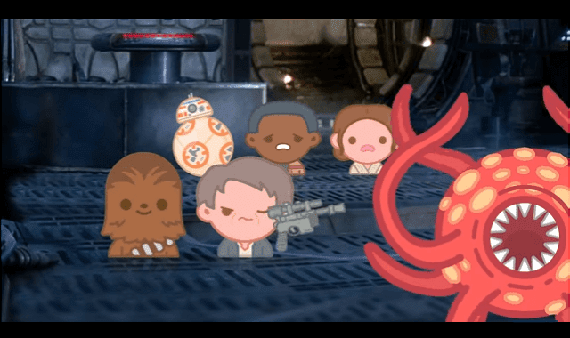 Star Wars: The Force Awakens retold with emojis