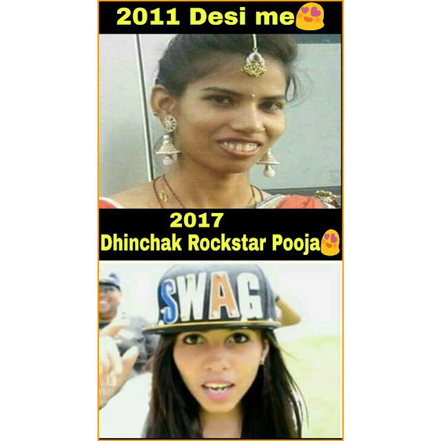 dhinchak pooja then and now