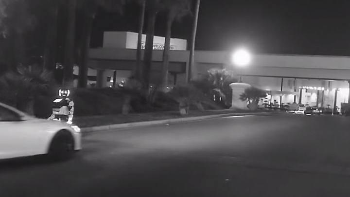 Ένας Tesla  αυτοκίνητο στον αυτόματο πιλότο «σκοτώνει» ένα ρωσικό ρομπότ στο Λας Βέγκας (vid)
