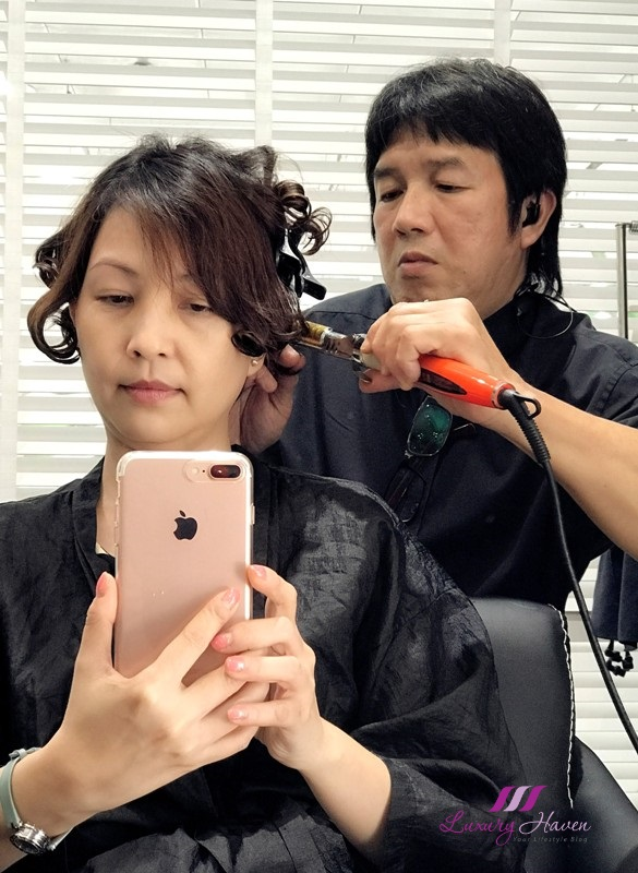 singapore orchard hair salons korean digital perm promo