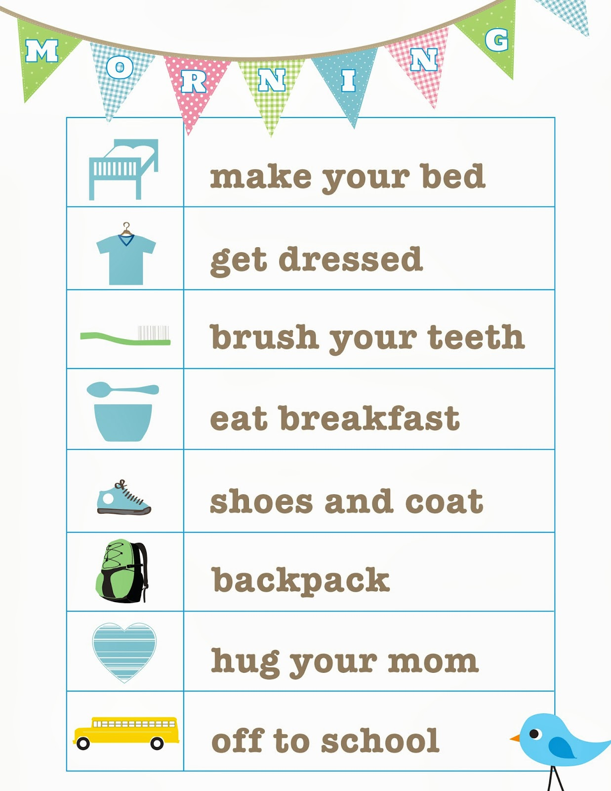 It S The Little Things Bedtime Routine Free Printable