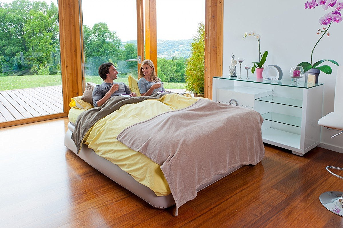 Review Aerobed Luxury Raised Double Air Bed The Test Pit