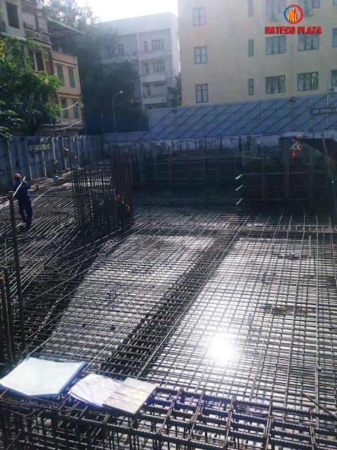 Tiến độ xây dựng dự án Hateco Huỳnh Thúc Kháng