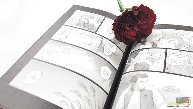 Stille Wasser Blick ins Buch Graphic Novel