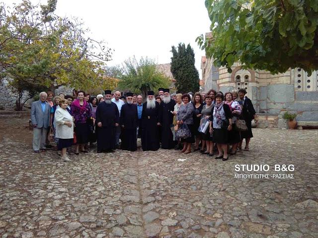 Προσκυνηματική εκδρομή του Ιερού Ναού Ευαγγελιστρίας Ναυπλίου στη Βοιωτία