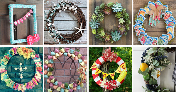 summer door wreaths