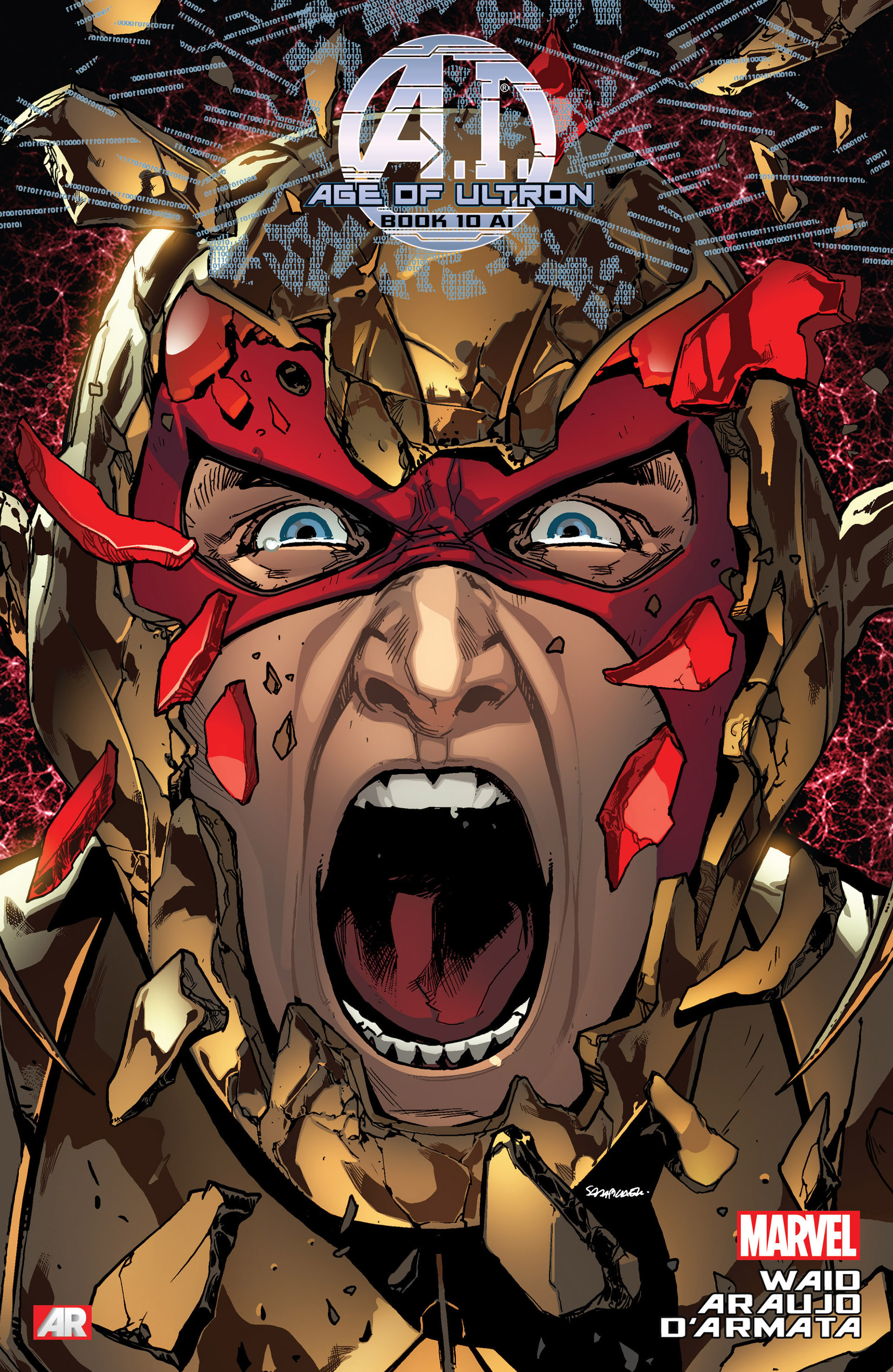 Read online Age of Ultron comic -  Issue #10AI - 1