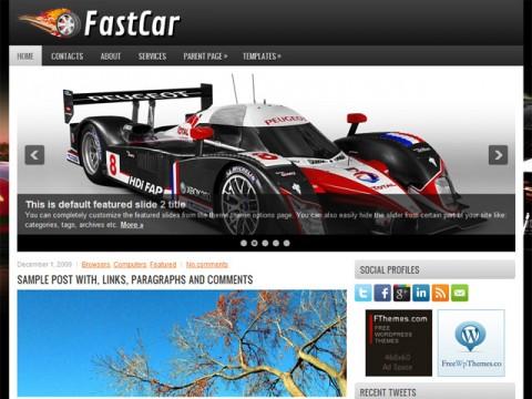 FREE FastCar WordPress Theme