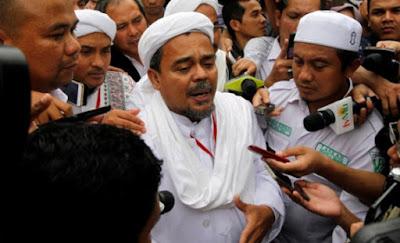 Tanggapan Cerdas Habib Rizieq terkait dirinya yang sering dilaporkan kepolisi