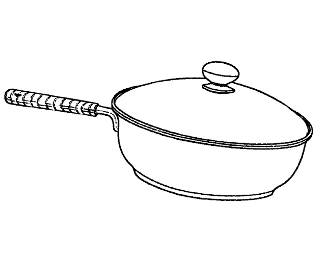 Gambar Mewarnai Peralatan Dapur - 5