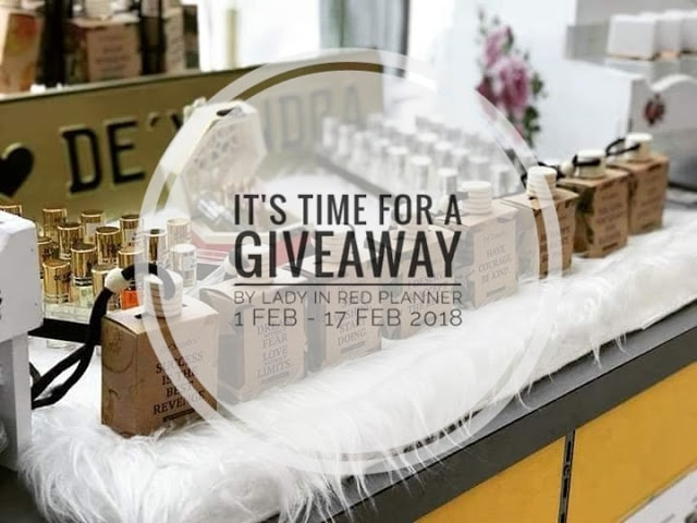 FEBRUARY GIVEAWAY by Lady in Red Planner