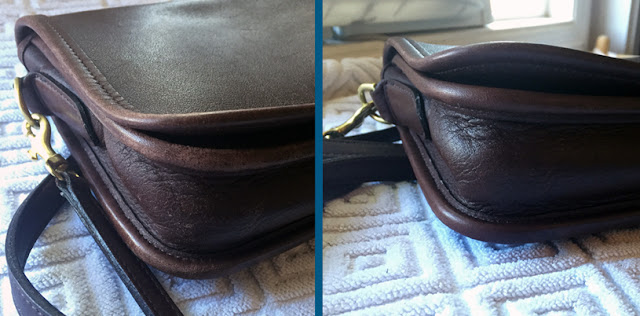Penny Pocket Purse Before & After | How to Care for a Classic Coach Purse