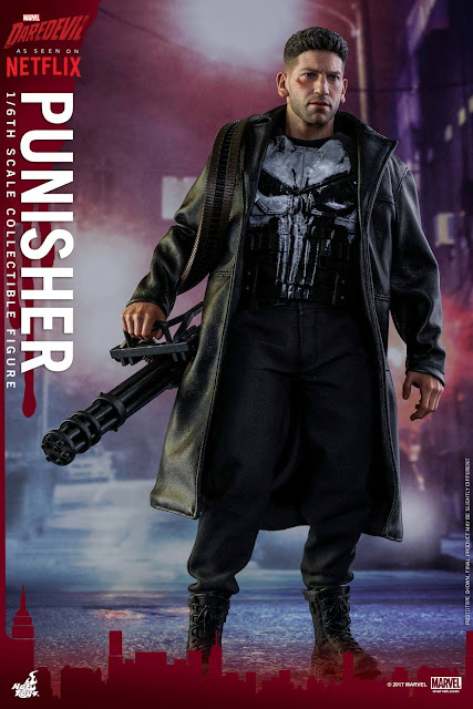 osw.zone Hot Toys Presents Marvel & ndash; S (Netflix) Daredevil 1 / 6. Scale Punisher 12-inch Collector Figure