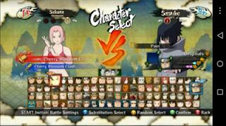 Naruto Senki Mod Naruto Shippuden Ultimate Ninja Storm 3 All Character Terbaru