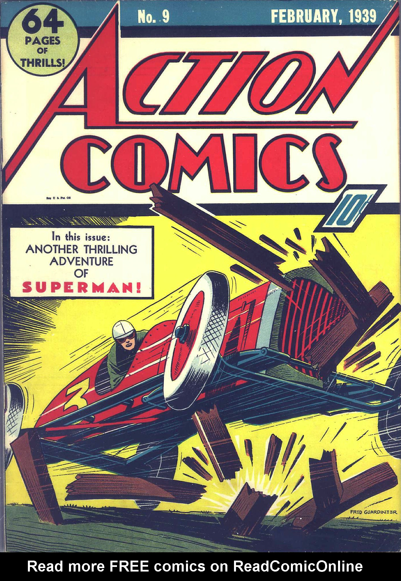 Read online Action Comics (1938) comic -  Issue #9 - 2
