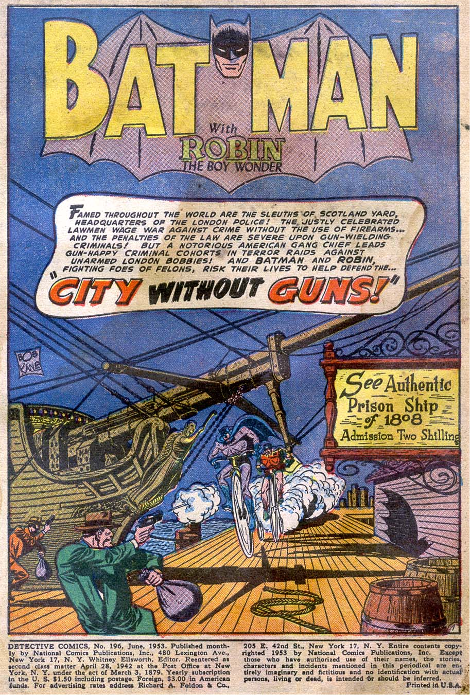 Read online Detective Comics (1937) comic -  Issue #196 - 3
