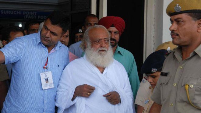 Asaram Bapu: Controversial Indian guru convicted of rape