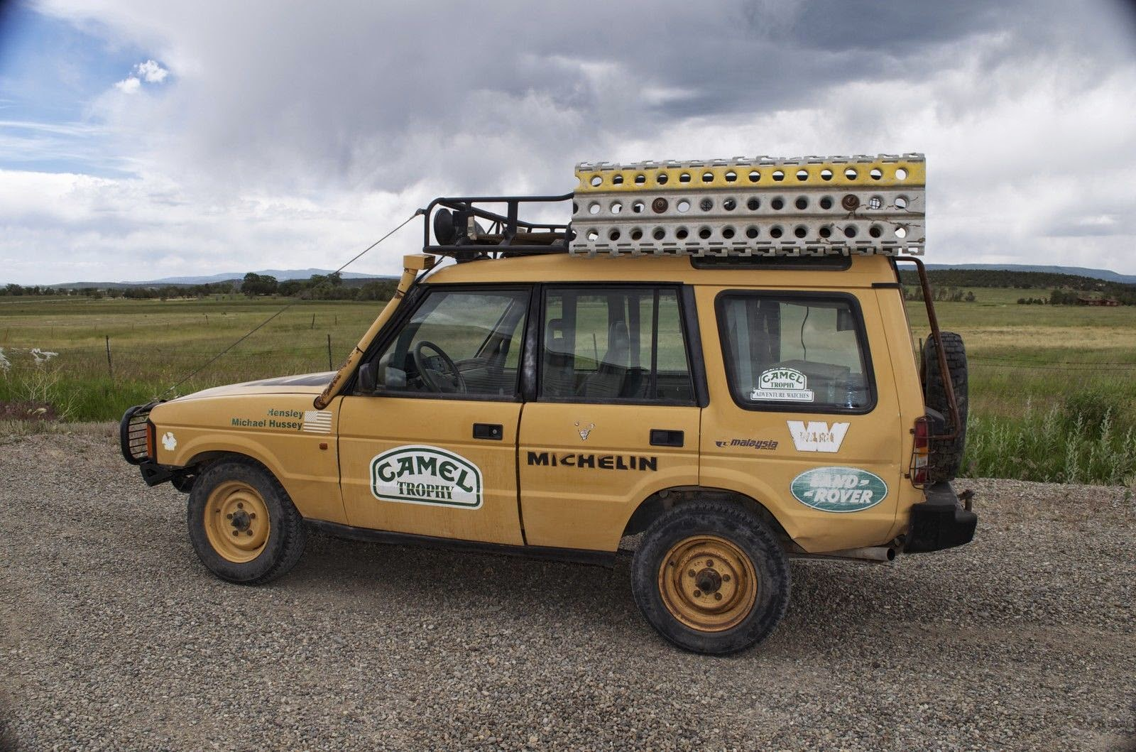 1993 Land Rover Discovery Camel Trophy Spec Auto Restorationice