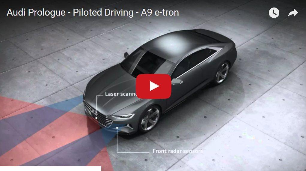 A9 E-TRON video