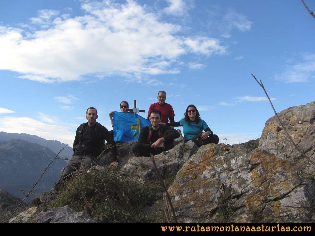 Ruta Baiña, Magarrón, Bustiello, Castiello. Pico Magarrón