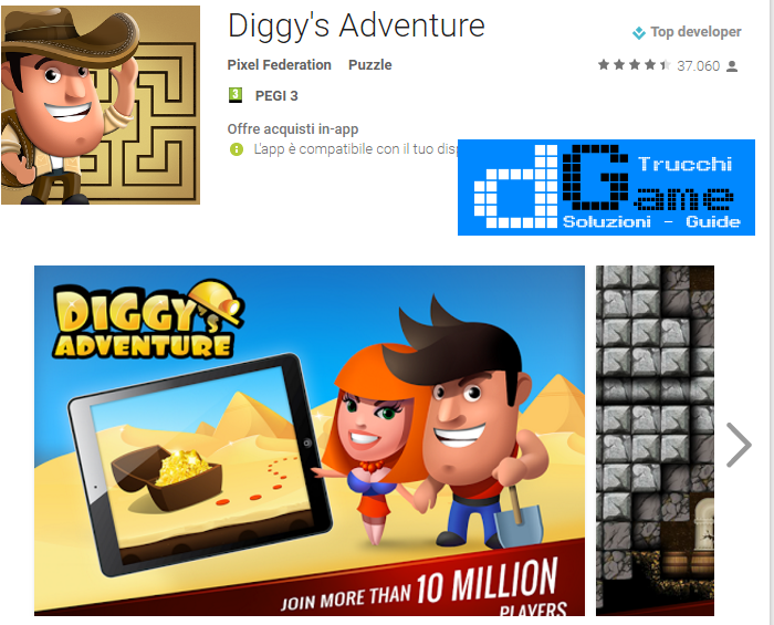 Trucchi Diggy's Adventure Mod Apk Android