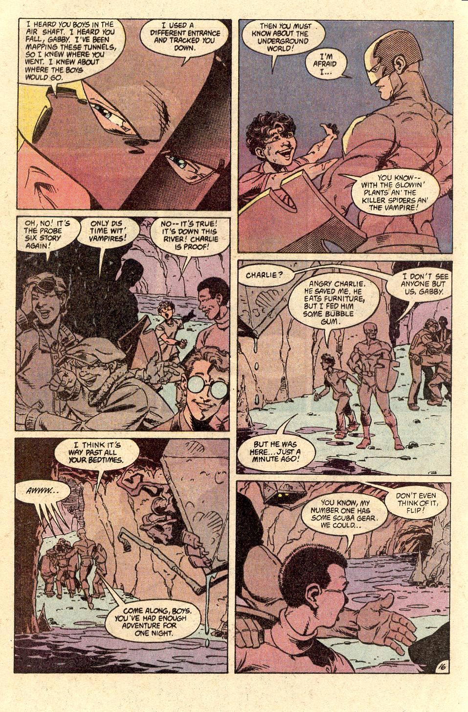 Read online Secret Origins (1986) comic -  Issue #49 - 21